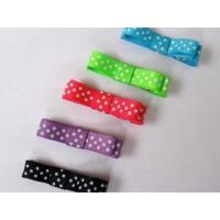 Wholesale Clips and Bitty bow Item NO:Swiss dots clip from china suppliers