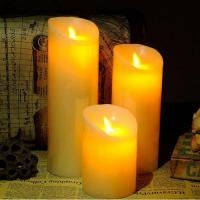 Wholesale 10CM Diameter Flameless Wax Candles from china suppliers