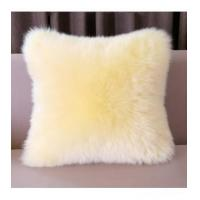 Wholesale Cushion China Supplier Colorized Real Mink Fur Decorative Pillow from china suppliers