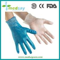 Wholesale Vinyl gloves blue from china suppliers