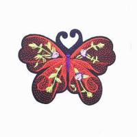 china 3d embroidery patch for blouses and pants