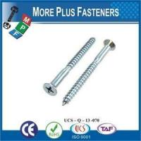 Wholesale Made in Taiwan DIN 7995 Cross Recessed Metric Pozi Raised Countersunk Head Wood Screw from china suppliers