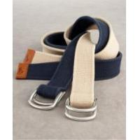 Polo Ralph Lauren Cotton D Ring Belt, Big