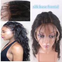 """13""""*4"""" Silk Base Frontal Closure With Hidden Knot Body Wave hair weave"""