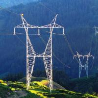 Power Transmission Tower High Voltage Transmission Towers