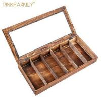 Wood sunglasses display suitcase a fashional gift for men