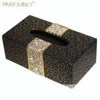Wholesale Vintage paper tissue box luxury facial tissue boxfor car from china suppliers