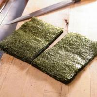 Grade A Sushi Nori Sheets with Half Cut Size for Sushi Roll
