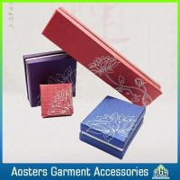 Hot Sell Custom Logo Printed Jewelry Boxes