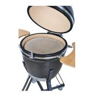 21 Inches Ceramic Barbecue Grills With Cast Iron Stand