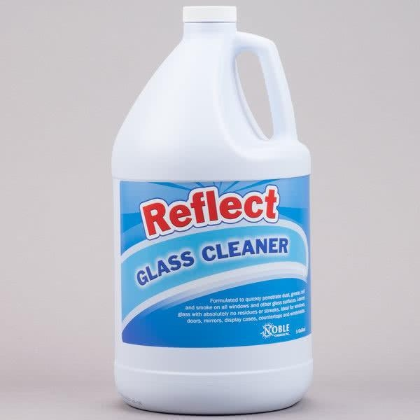 Quality Noble Chemical Reflect 1 Gallon / 128 oz.Glass / Multi-Surface Spray Cleaner - 4/Case for sale