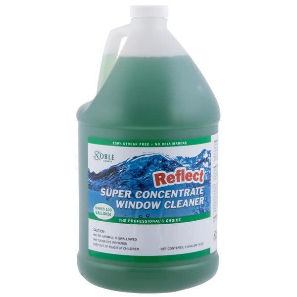 Quality Noble Chemical 1 gallon / 128 oz. Reflect Super Concentrate Window Cleaner for sale
