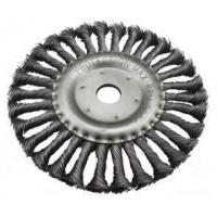 WHEEL BRUSH KNOTTED