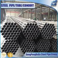 ASTM A53 dn 60 gr.b schedule 80 ms black steel pipe