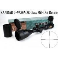 Wholesale Tactical Optical Sight Gold Edition KANDAR 3-9x50 AOME Glass Mil-dot Reticle Locking RifleScope from china suppliers