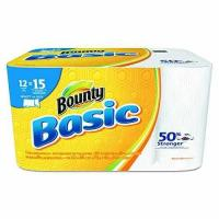 """Wholesale Bounty 92972 Basic Select-A-Size Paper Towels, 5 9/10"""" x 11"""", 1-Ply, White Pack of 12 from china suppliers"""