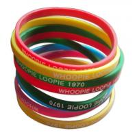 Wholesale Silicone Rubber Bracelet from china suppliers