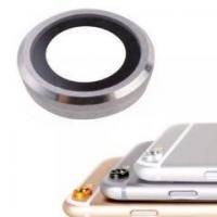 China Silver Rear Camera Lens Cover Ring Flash Diffuser Replacement for iPhone 6 & 6s on sale
