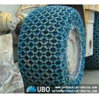 29.5-25 tire protection chain working at quarrying