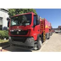 Wholesale Two Seats Fire Pumper Truck , USB Interfac Audio Player Fire Rescue Vehicles from china suppliers