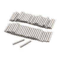 Wholesale uxcell 100 Pcs Stainless Steel 2.3mm x 15.8mm Dowel Pins Fasten Elements from china suppliers