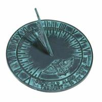 Buy cheap Rome 2560 New Salem Sundial, Cast Iron with Verdigris Finish, 10-Inch Diameter from wholesalers