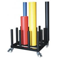 Wholesale SpeedPress Iron Man Welded Steel Rolling Cart For 16 Vinyl Rolls from china suppliers