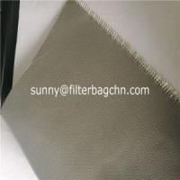 High Temperature Woven Fiberglass Filter Bags with Silicon