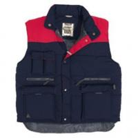 Safety Equitment MULTIPOCKETS VEST SIERRA BLUE/RED