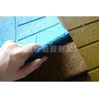 Buy cheap EPDM Rubber Granules Floor tile with particles product