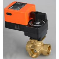 Wholesale G3/4'' 0-10V 3 way proprotion valve AC/DC24V for water automatic control from china suppliers