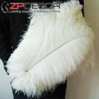 Wholesale ZPDECOR 50-55cm(20-22inch) 100pieces/lot Costume Design Dyed Ostrich Feather from china suppliers