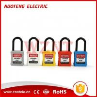 Buy cheap Safety Padlock 38mm Plastic Short Shackle Safety Padlock NT-A38P product
