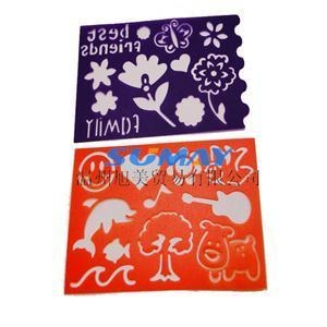 Quality flower stencil template for sale