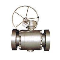 Wholesale Ball valve Flange connection fixed ball valve from china suppliers