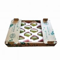 China Corrugated Carton Box for Fruit Banana Shipping Tray Box for Fresh Fuits and Vegetables on sale