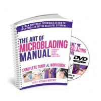 Wholesale The Art of Microblading Manual with DVD from china suppliers