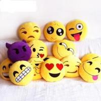 Wholesale Emoji Decorative Throw Pillow Stuffed Smiley Cushion Home Decor For Sofa Couch Chair Toy Emotional from china suppliers
