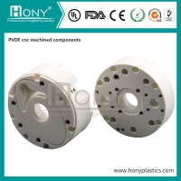 Wholesale Custom CNC milling part PVDF cnc turning service axis cnc milling from china suppliers