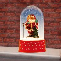 Wholesale Tabletop Christmas Snowing Dome with Santa from china suppliers