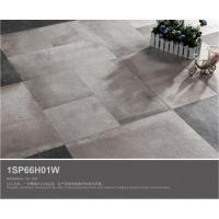 China 600x600 cement tile anti skid heat resistant stone types rustic ceramic floor tiles 1SP66H01W on sale