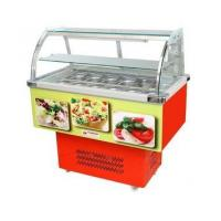 supermarket commercial salad bar refrigerator for sale
