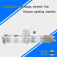Buy cheap DLZ-420 automatic continuous stretch film vacuum packing machine from wholesalers