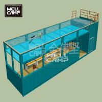 Buy cheap Shipping container swimming pool in prefab houses shipping container home 40 feet from wholesalers