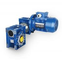 China DRV with motor double worm gear reducer (DRV) on sale