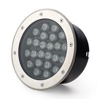 Wholesale 24W Waterproof Round Led Underground Light For Greening from china suppliers