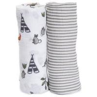 Wholesale Baby Swaddle Blanket Upsimples Unisex Swaddle Wrap Soft Silky Bamboo Muslin Swaddle Blankets from china suppliers