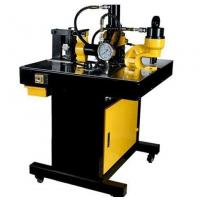 Buy cheap DHY-200 manual operate copper busbar punching bending and cutting machine from wholesalers