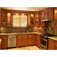 China Solid Wood Kitchen Cabinet Solid Wood Kitchen Cabinet on sale