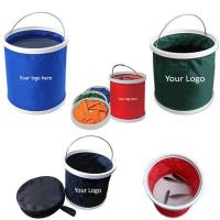 China 9L Folding Water Bucket With Zipper Bag-EVWD5016 on sale